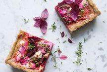W O R K : S A V O R Y / Savory Recipes & Food Styling