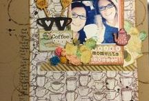 my scrapbook layouts / Pictures of the scrapbook layouts I have made