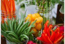 Farm To Table Events / Take the freshness and beauty of nature and intertwine it with creative decor for a Farm to Table event or gathering to share your healthy food and lifestyle.  Farmer's Market Wedding or Farm to Table Wedding
