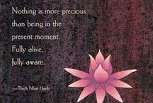 Wisdom / Soul-searching. Wise words.