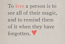 Words To Live By / Just some words I'm trying to live by. Striving for love, integrity, compassion & courage.