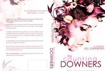 The Counting-Downers Book Cover / The Official Book Covers for my debut novel, The Counting-Downers