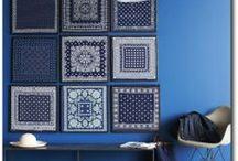 feeling blue / blue home decor + fashion + pet fashion