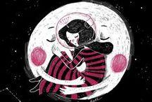 Ilustrações by Kathrin Honesta