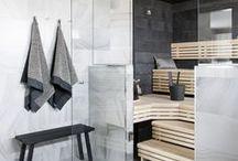 DECOR: Bathroom + sauna