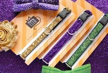 prr-ple, green, & gold / mardi gras style and ideas for cats and cat owners