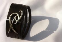 Ishaor leather cuffs