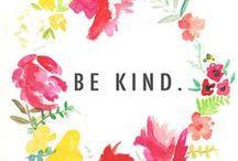 pretty words {inspiration} / lovely words | http://www.wildflowersbydesign.com