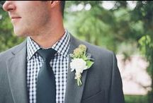boutonnieres {wildflowers by design} / gorgeous clients, floral design and wedding boutonnieres | http://www.wildflowersbydesign.com