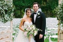 aisle way {wildflowers by design} / gorgeous clients, floral design and wedding aisles | http://www.wildflowersbydesign.com