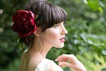 red {wedding inspiration} / red wedding floral design & inspiration
