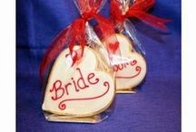 Wedding Place Name Cookies