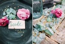 organic {wedding inspiration} / organic wedding decor, floral design & inspiration