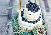 foodie {wedding inspiration} / foodie wedding cakes & inspiration