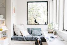 cozy rooms / 居心地のいい部屋