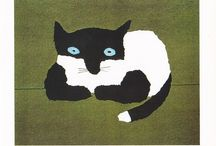 Cats / All kinds of cats in painting or other creation.