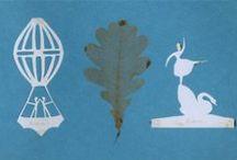 h.c.andersen's papercuttings / 大好きな作家、アンデルセンが作った繊細な切り絵の世界