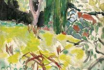paintings • engravings / 惹かれるのは、光と影、両方を感じる絵