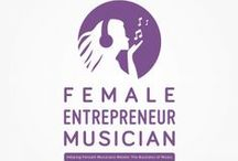 Female Entrepreneur Musician / Best music podcasts with great music, tips and advice!