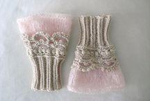 crochet・knitting / 一針一針、いろんな糸で編んだもの***