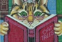 Cat Tales Fiction / Cartoons, Art with Cats and Books / by Cat Christie