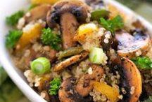 vegetable food / 野菜、穀物、乳製品、卵で作るヘルシーごはん