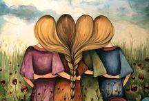 Sisters,nieces,aunties