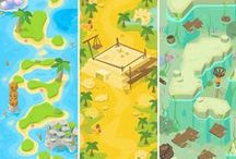 cartoon / game enviro