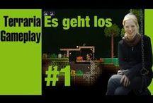 #Terraria / Ihr seht hier mein Terraria Gameplay :)  Terraria erinnert an Minecraft in 3D