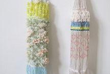 weaving / 糸から生まれる絵
