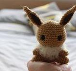 Crochet and knitting stuffed animals.