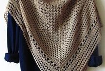 Crochet and knitting clothes.