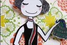 Lovely paper dolls