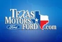 Texas Motors Ford / Check out Texas Motors Ford at http://www.texasmotorsford.com/ / by Kate Frost Inc.
