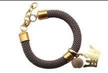 Κοσμήματα από κορδόνι / Χειροποίητα κοσμήματα από κορδόνι, με φουντίτσες, μεταλλικά στοιχεία και πον - πον, συνδυασμένα όλα μαζί σε νέα σχέδια....