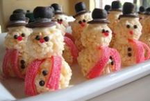 Childrens' Christmas crafts