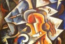 Violinart / Kunst geïnspireerd door de viool