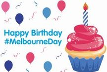 What's on / Check here for Melbourne Day events and happenings.  Lots of fab events in the lead-up to August 30.  Get involved - and spread the word!