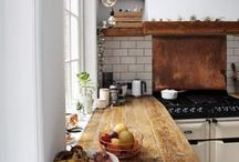 HOME •• Kitchen / This is the heart of the house, where you spend time to create happiness.