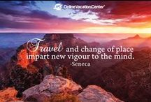 Travel Quotes & Inspiration / Get those bags packed, let's plan a trip!