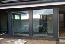 Rationel windows and sliders (Aldus) with aluminium clads, and renewed T&G / One of our latest projects.  Before and after pictures.