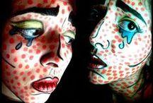 MYMakeup&facepaint / Trucchi di vario genere fatti da me su di me. Tutte le foto in questa bacheca sono mie. Various makeups made by me on me. All photos in this board are mine.