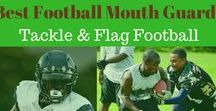 Best Football Mouth Guard: Tackle and Flag Football / The sport of football involves contact, and whether you are playing high school or college tackle or adult flag football, where collisions are minimized, wearing the best football mouth guard will be a wise investment to protect your teeth and mouth.