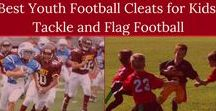 Best Youth Football Cleats for Kids: Tackle and Flag Football / Is your kid playing flag football, or tackle, and in need of cleats this Winter 2018 season? As a parent of one or more active children, you'll want the best youth football cleats for kids, so they aren't slipping and sliding all over the field. Defining the right football shoes for the particular style of play, flag football or tackle, is going to determine what kind of gear to grab before the start of the next season.
