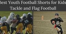 Best Youth Football Shorts for Kids: Tackle and Flag Football / Football, whether tackle or flag football, is a physically tough sport. When children are beginning a new season, it is crucial they have all the necessary gear for protection, as well as to uphold the equipment rules of the league. For example, it's well known that in youth flag football, it's necessary for kids to wear shorts that are without pockets. Fingers can easily be snagged, if not. When it comes to football shorts for tackle, as well as flag football, compression shorts are helpful.