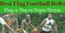 Best Flag Football Belts: Flag-a-Tag vs Triple Threat / In this fast growing sport of adult flag football, Triple Threat and Flag-a-Tag have established themselves as the two best flag football belts of 2018. Often these are required flag football belts by city parks and recreation leagues, independent leagues and can be found in the equipment bags of pickup game organizer's across the country.