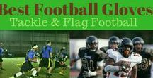 Best Football Gloves for Tackle and Flag Football / Since the introduction of the glove in tackle and flag football, players across both versions of the sport, now wear the best football gloves on the field that they can find each game, dependent on their offensive or defensive position.