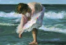 ⊹ BeaCH / sEA⊹ aRT - ✿Sea/Boats / Paintings