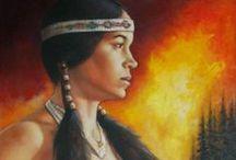 ⊹ Native American Indian  ⊹ aRT