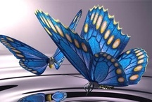 Butterflies <3 / Elegant, light, beautiful creatures... a large variety of butterflies enriches any garden... :-) www.letsgrowcom - app for iPad